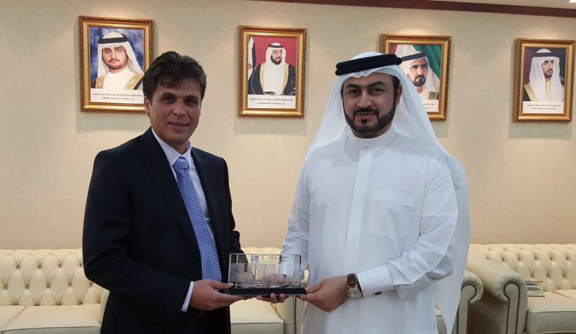 Al Falah Delegation Meets Dubai Judicial Institute