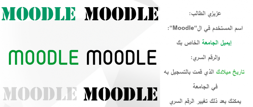 How To use Moodle!