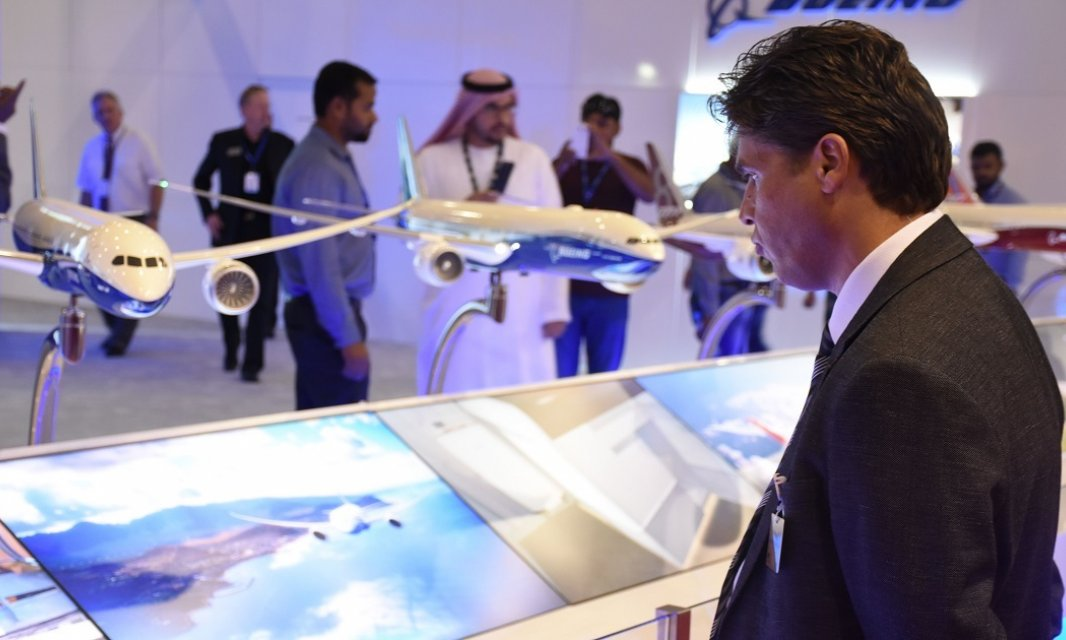 Al Falah University Visits Dubai Air Show 2015