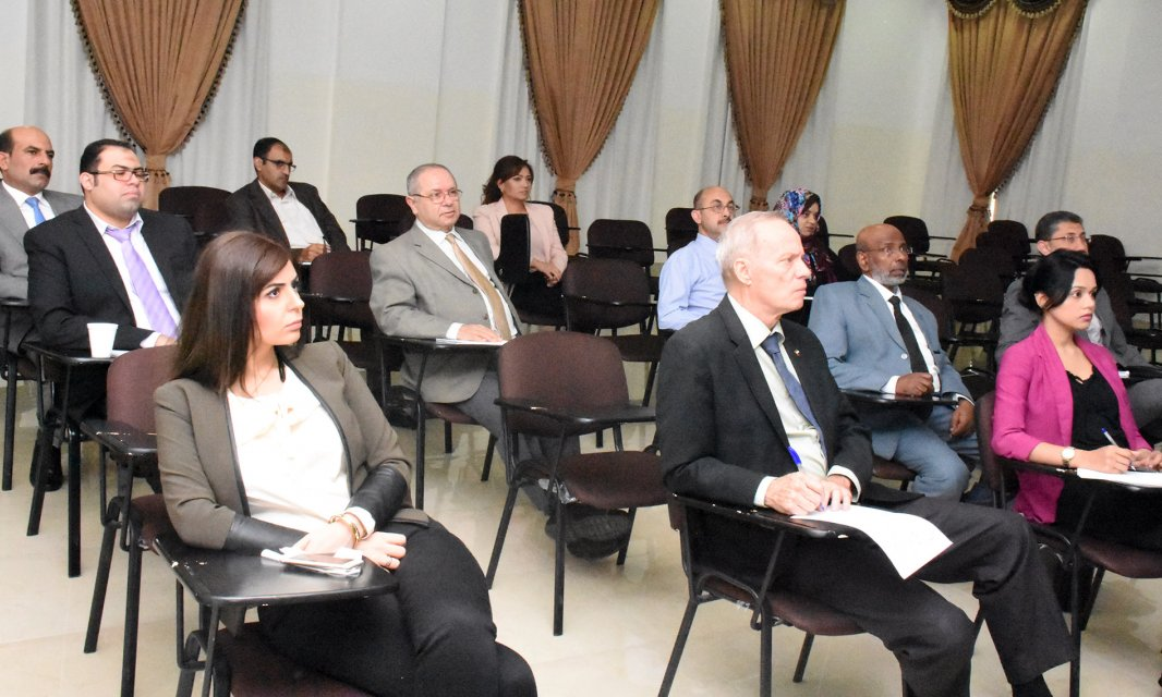 Al Falah University hosts a Mc Graw Hill Presentation