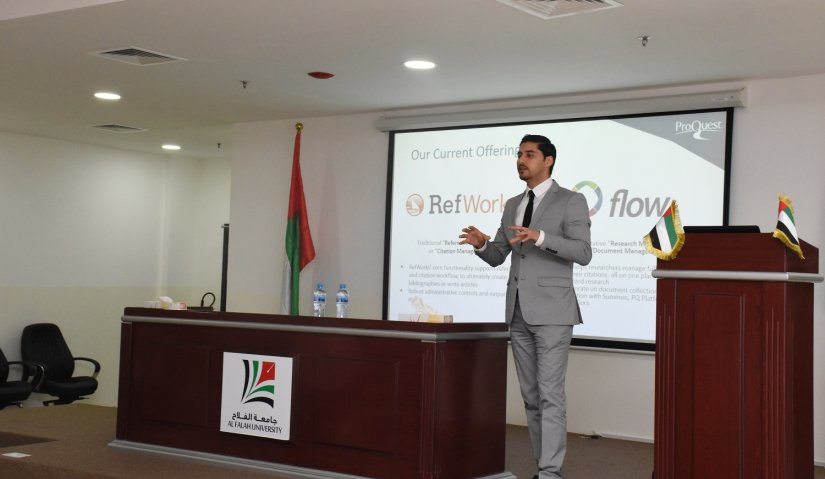 ProQuest's Refwork Presentation for Al Falah Faculty Members