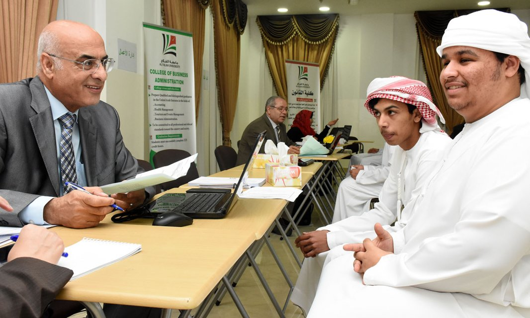 Advising Week Continues in Al Falah University