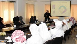 Workshop on Leadership Skills and Knowledge Management at Al Falah University