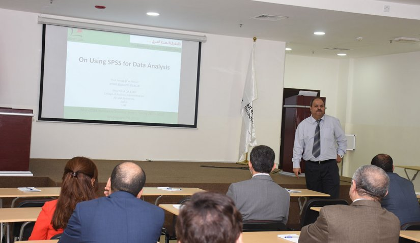 Al Falah University organizes a workshop on Course Learning Outcome Analysis