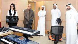 Academic and Student Delegation from Al Falah University Visits Radio and Television Dubai