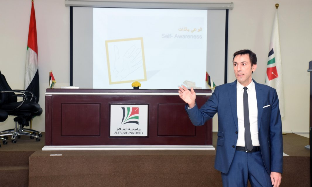 Al Falah University held a scientific meeting for staff and university administrators entitled: