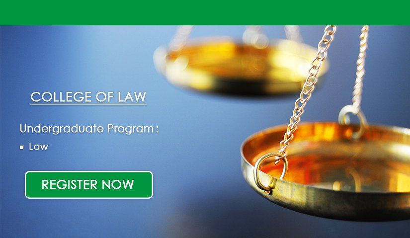 Register Now | College of Law