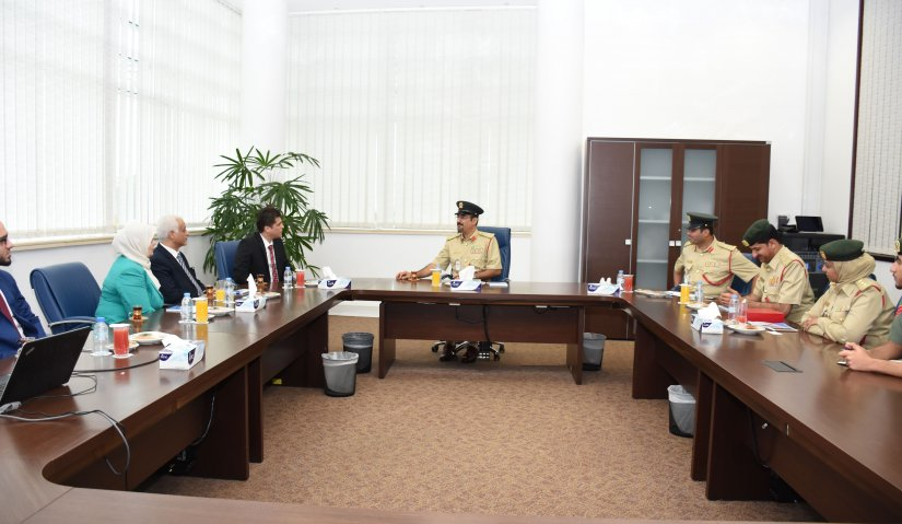 Al Falah University to Strengthen Relation with Dubai Police