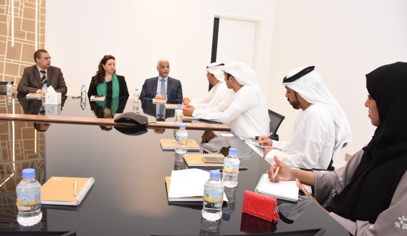 A Delegation from Al Falah University Visits Sharjah Media Center