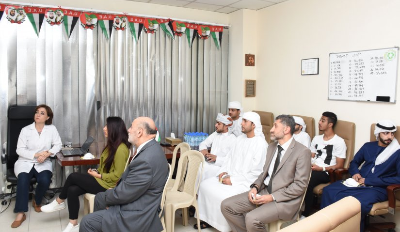 Student Delegation from Al Falah University Visits Treatment Plant