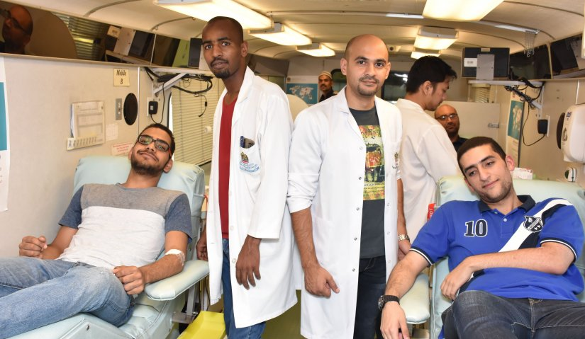 Blood Donation Campaign at Al Falah University
