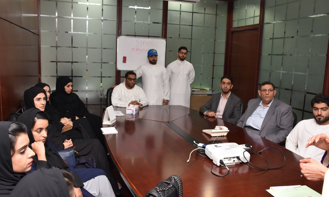 A Student Delegation from Al Falah University Visits Printwell printing press