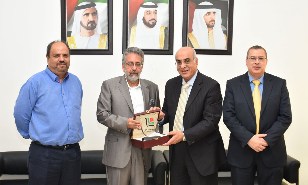 State of Palestine's Deputy Consul General in Dubai visits Al Falah University