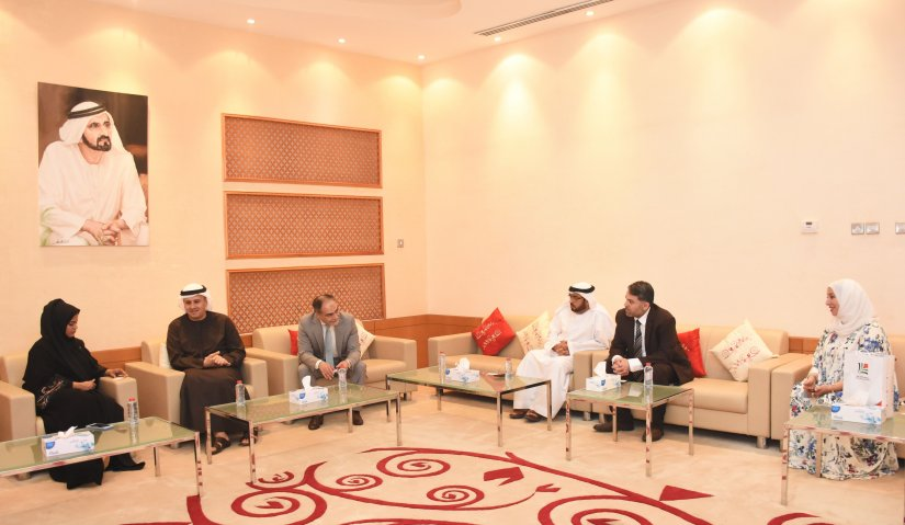 Fruitful Meeting between AFU and Al Bayan Newspaper