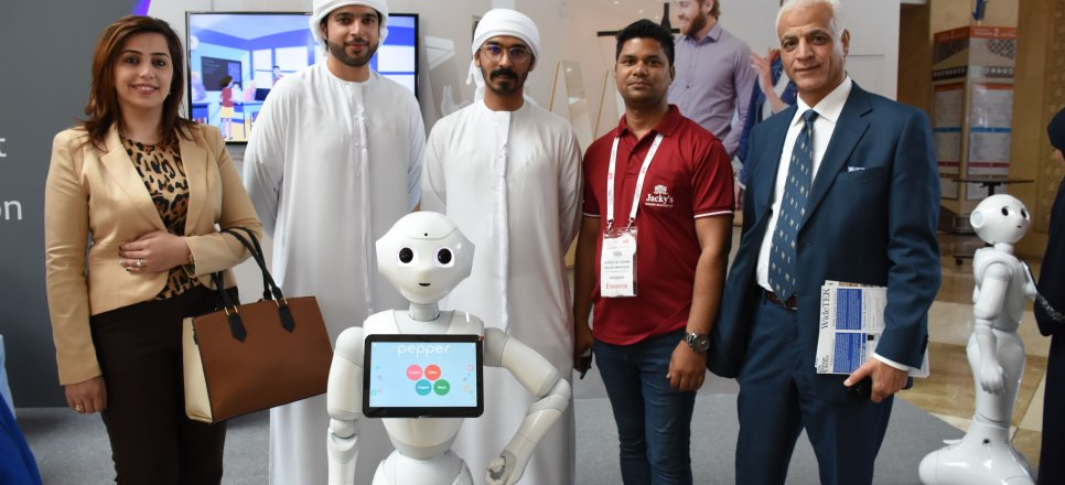 Al Falah University Students Visit GITEX 2018 Exhibition