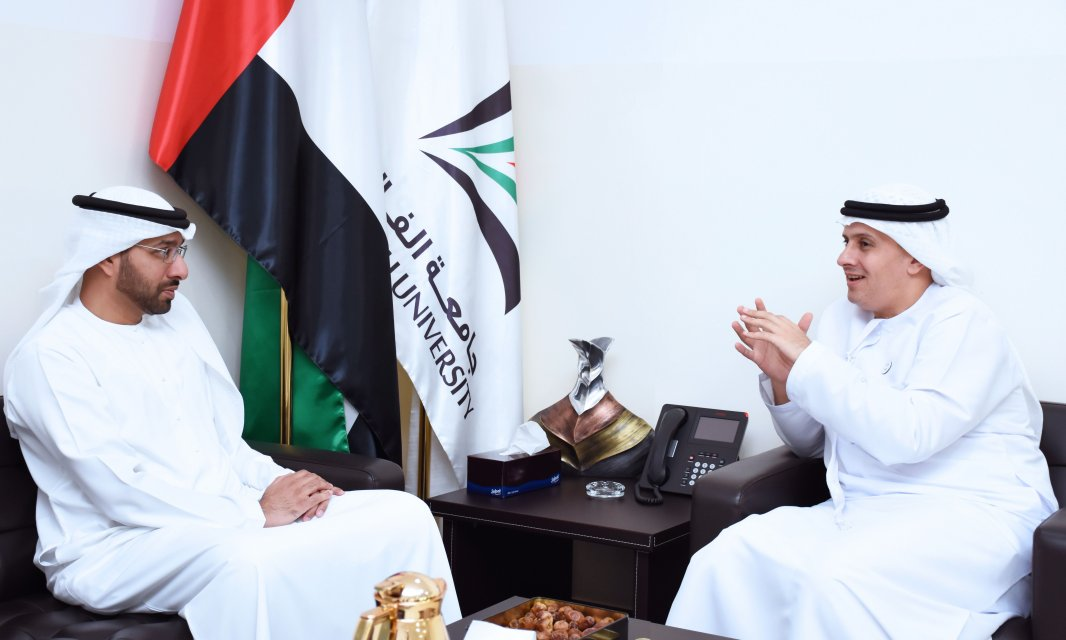 Al Falah University Discusses Cooperation with Dubai Culture and Arts Authority