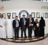 College of Mass Communication students visit the Dubai Police