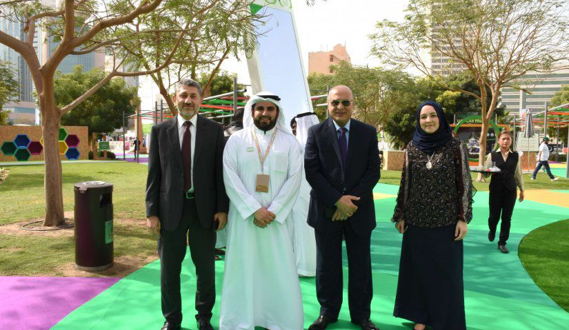 AFU Participates in Dubai Car Free Day