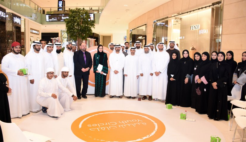 Al Falah University Students Participate in a Panel Discussion in Dubai Mall