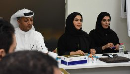 Dubai Customs Committee Reviewed Intellectual Property Campaign by AFU Students