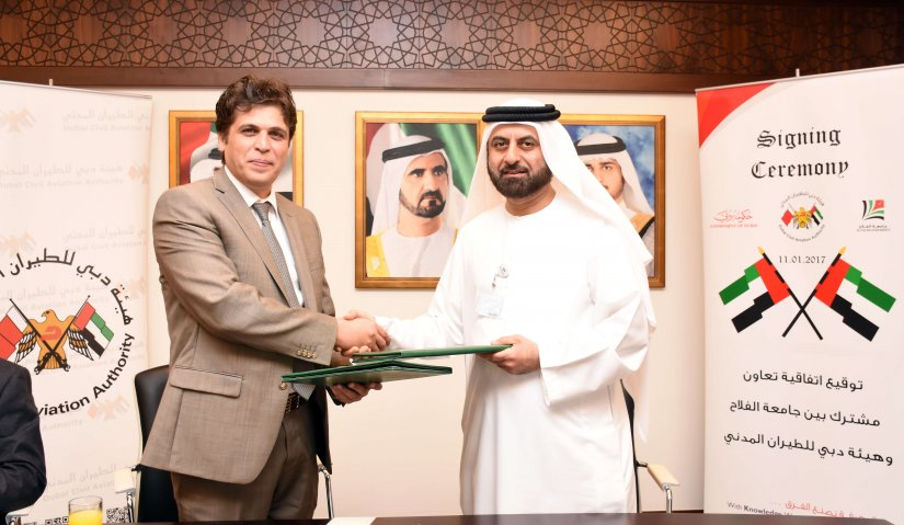 A Joint Cooperation between Al Falah University and the Dubai Civil Aviation Authority