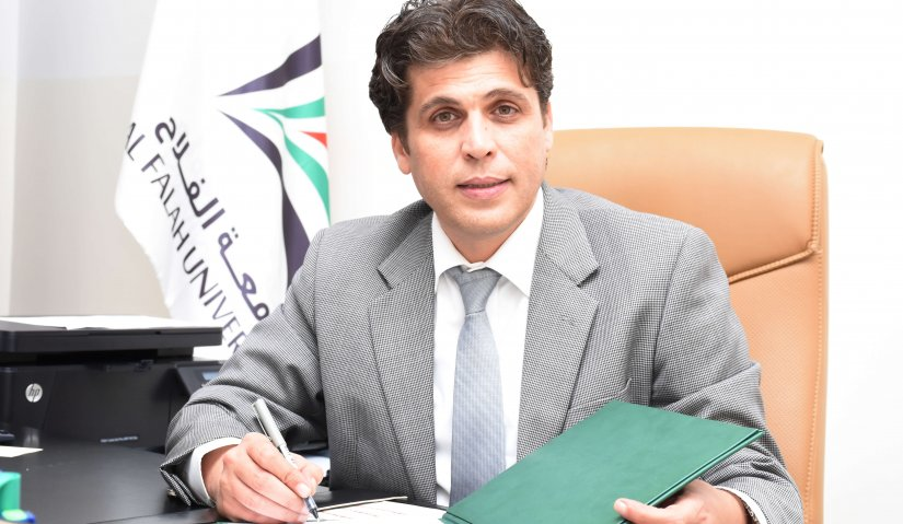 Al Falah University and AMIDEAST Sign Agreement