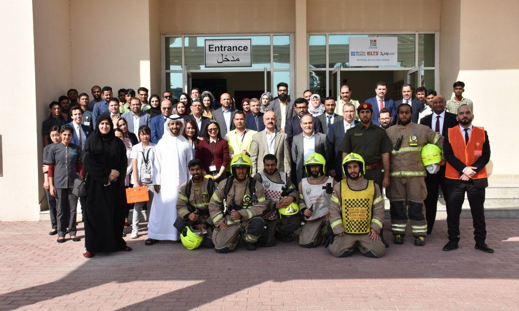 Mock Evacuation Drill at Al Falah University
