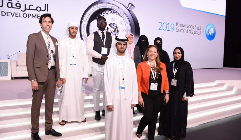 AFU Students and Faculty Members Attend the 2019 Knowledge Summit
