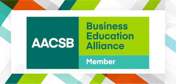 AFU COBA is now a member of AACSB