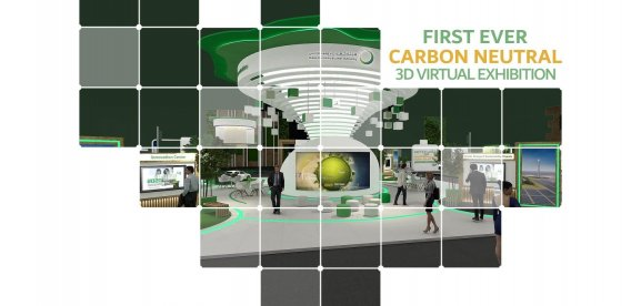 FIRST EVER CARBON NEUTRAL 3D VIRTUAL EXHIBITION