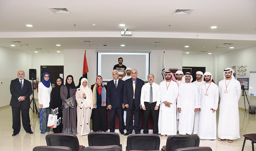 Group Picture students in Al Falah University